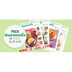 Pack Thermomix & Vous n° 33 à 36