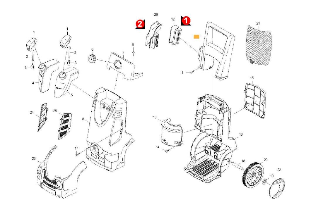 Karcher K6 95 : capot le ~ Carolinahurricanesstore.com Idées de Décoration